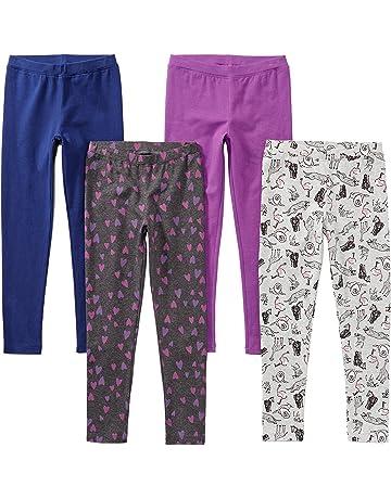 78b72d9a2dc9 Amazon Brand - Spotted Zebra Girls' Toddler & Kid 4-Pack Leggings