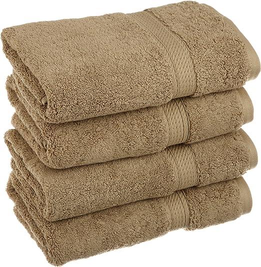 Superior de algodón Egipcio 900 Gramos 4 Piezas Juego de Toalla de ...