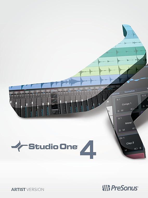PreSonus Studio One 4 Artist Recording Software Suite [Online Code]