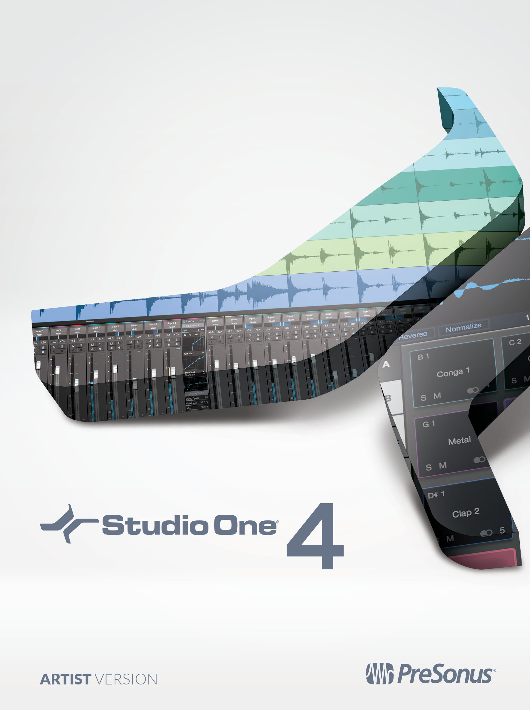 PreSonus Studio One 4 Artist Recording Software Suite [Online - Tools Pc Software