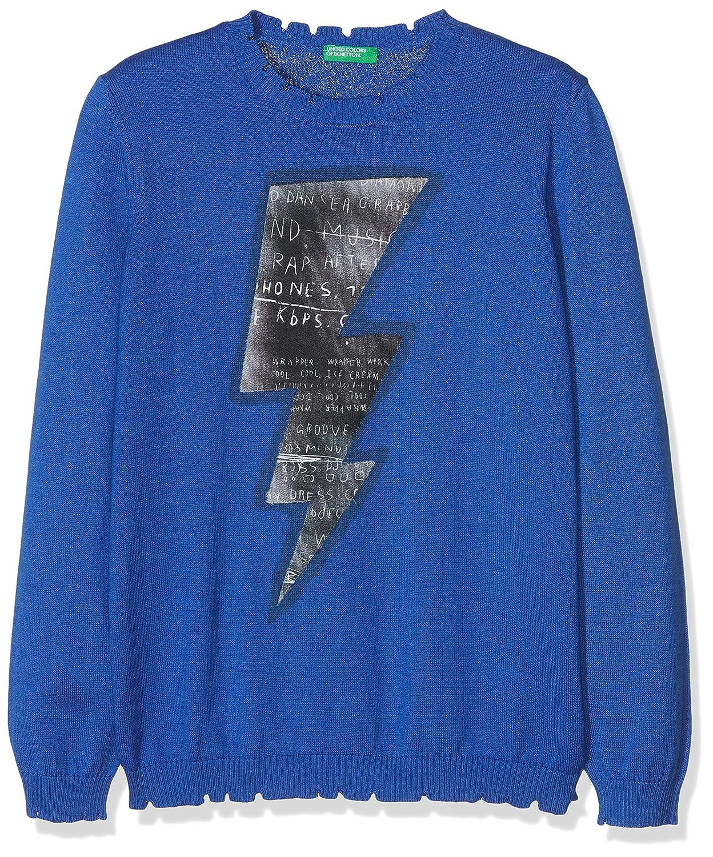 United Colors of Benetton Sweater L/S, Felpa Bambino 102QC1666