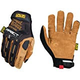 Mechanix Wear - Leather M-Pact Gloves (Large, Black/Brown)