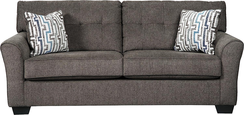 Benchcraft - Alsen Contemporary Upholstered Sofa - Granite