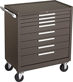 product image for Kennedy Manufacturing 348XB 8-Drawer Cabinet with Ball-Bearing Slides, Brown Wrinkle