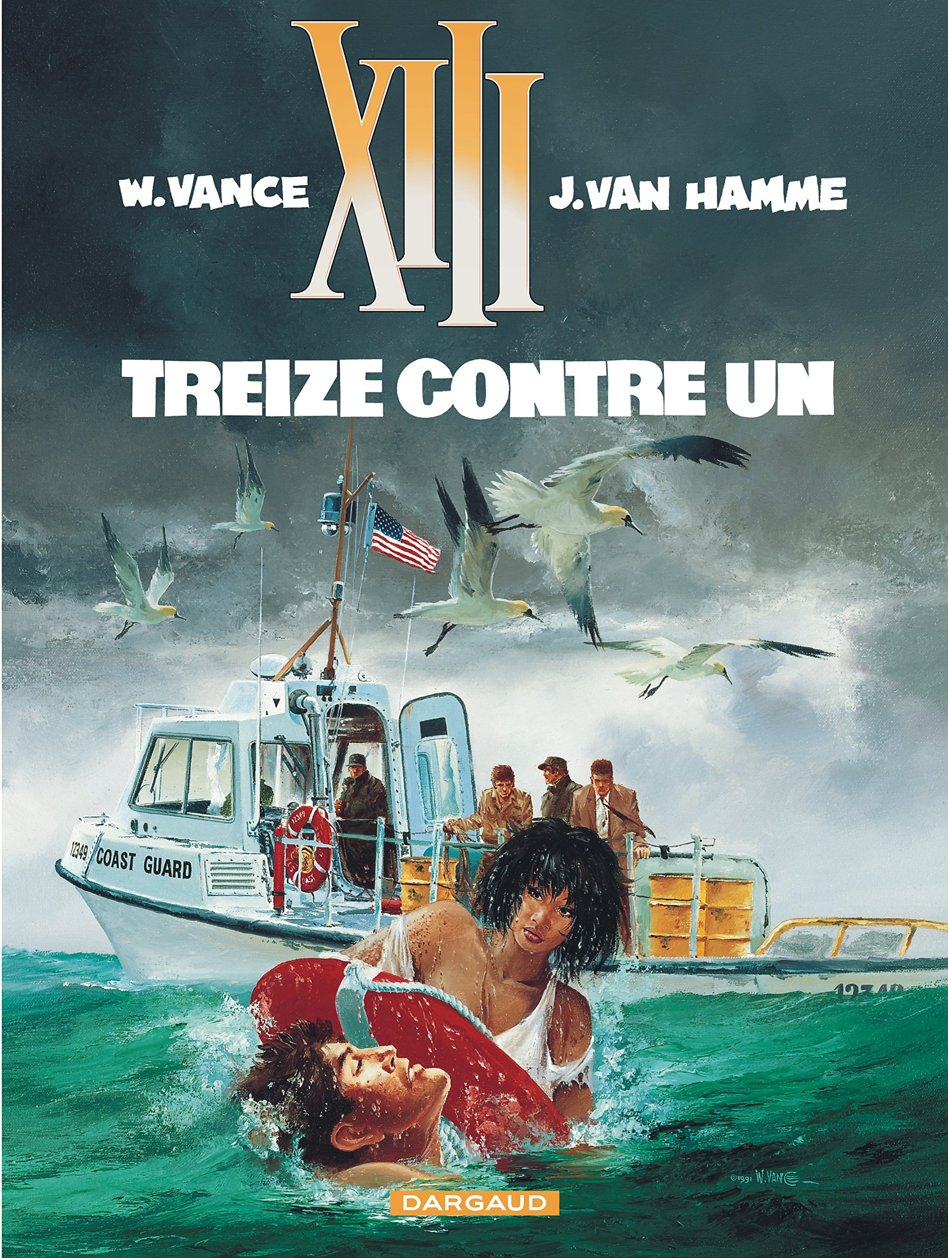 Amazon.fr - XIII, tome 8, Treize contre un - William Vance, Jean Van Hamme  - Livres