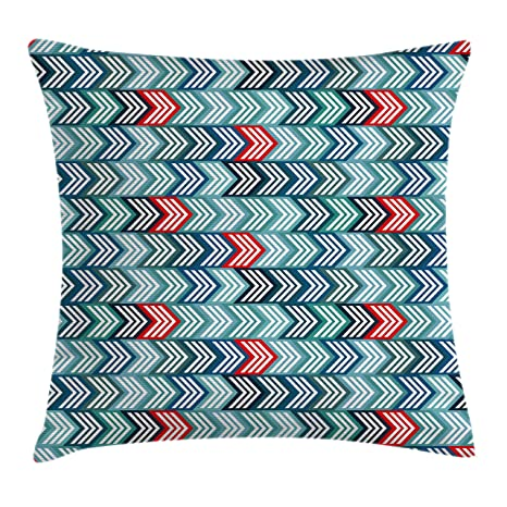 Superb Amazon Com Lunarable Abstract Throw Pillow Cushion Cover Home Interior And Landscaping Staixmapetitesourisinfo