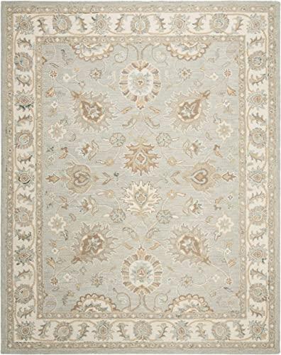 Safavieh Blossom Collection BLM702M Handmade Premium Wool Area Rug