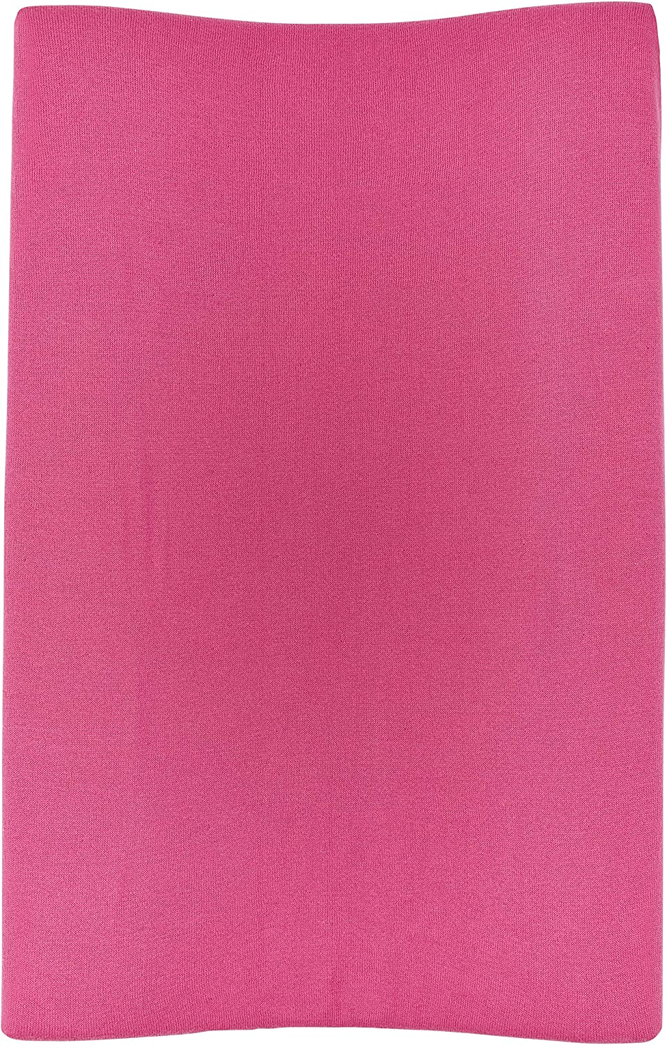 Meyco 2763033 2-Wedge Changing Mat Cover Knitted Knit Bright Pink 45 x 70 cm Multi-Coloured