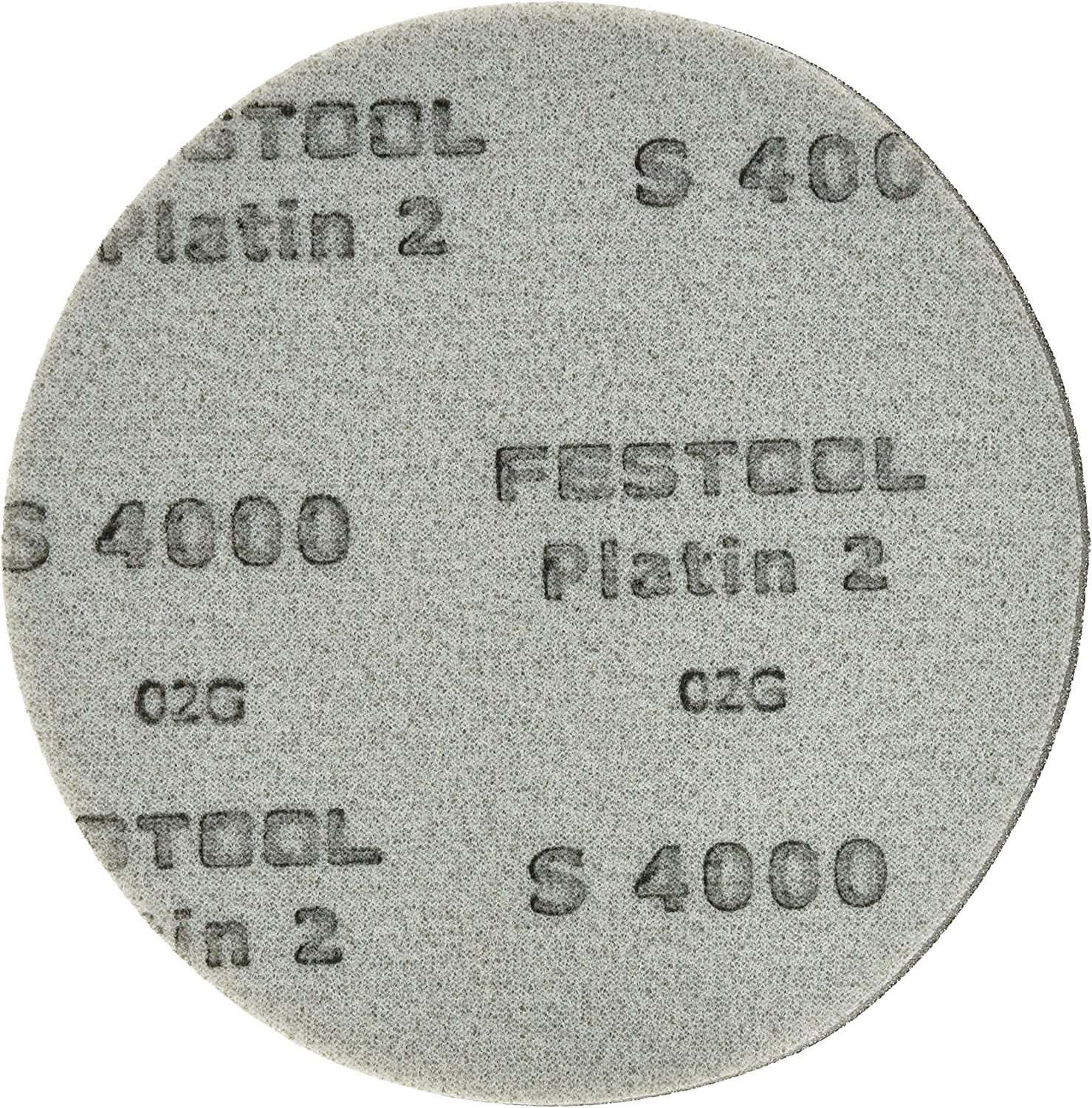 Festool 492376 S2000 Grit Platin 2 Abrasives Pack of 15