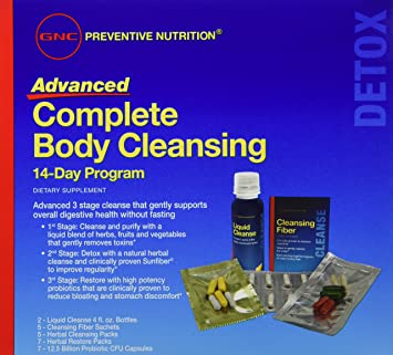 GNC Preventive Nutrition Advanced Complete Body Cleansing 14 Day Program 14  days