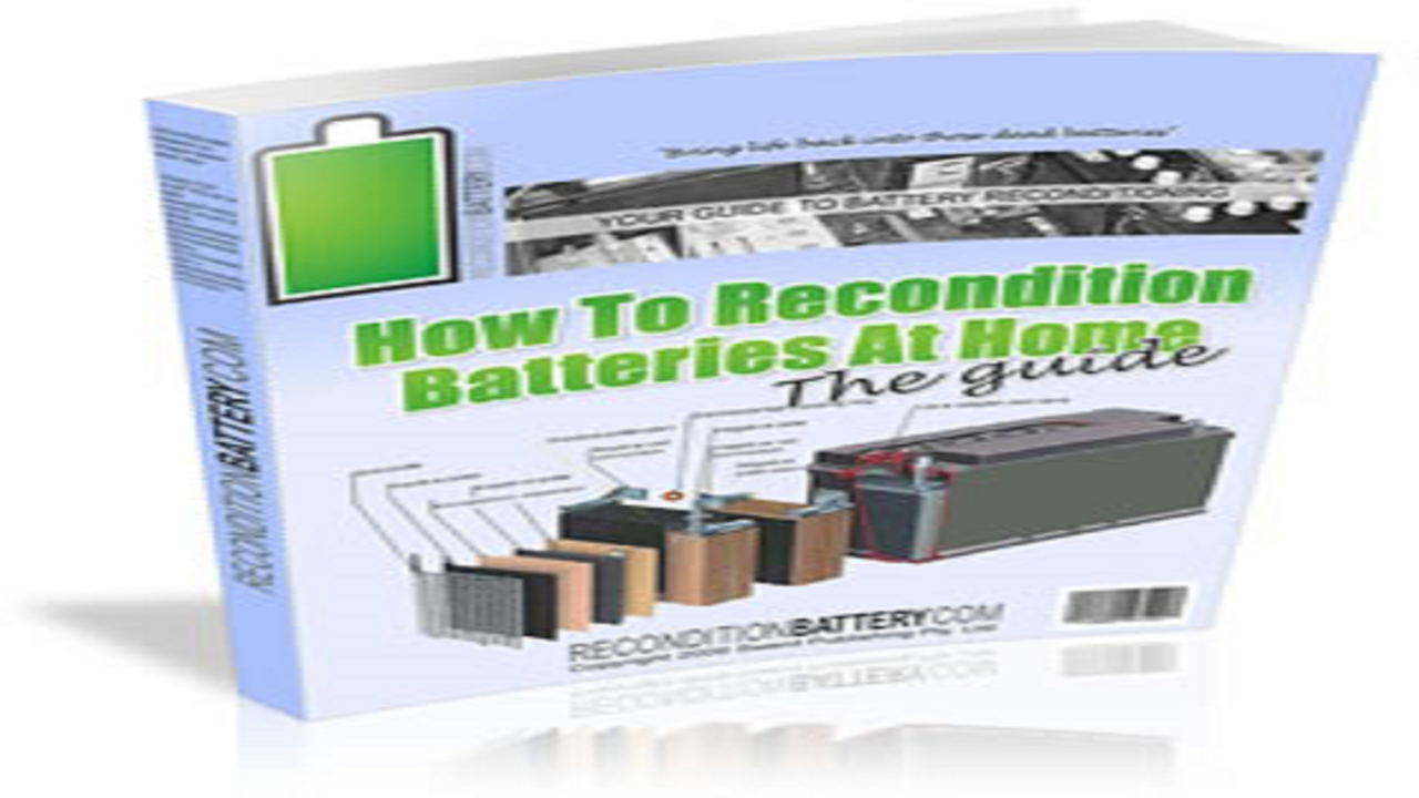 Amazon Com How To Recondition Old Batteries And Save Your Money Appstore For Android