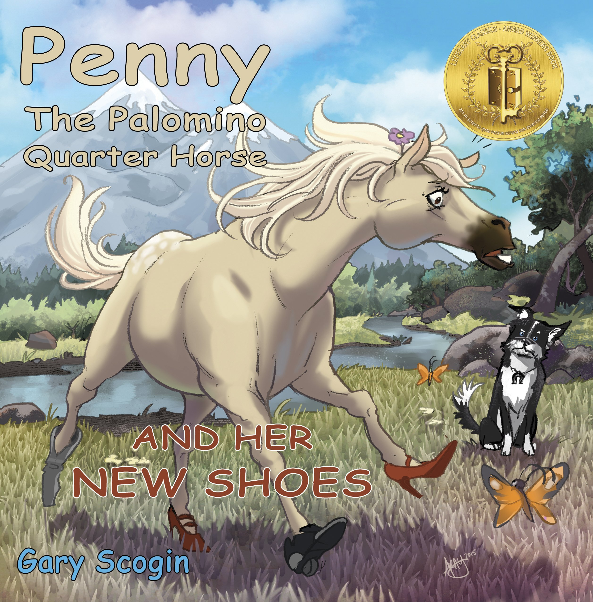 Penny the Palomino Quarter Horse and Her New Shoes pdf epub