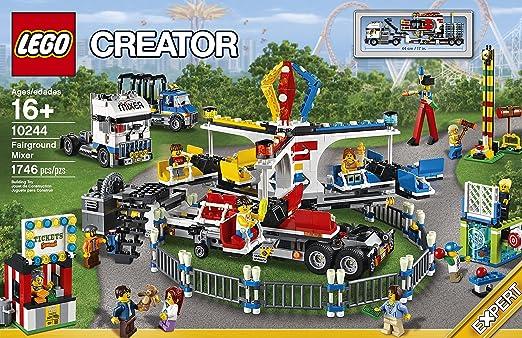 Amazon.com: LEGO Creator Expert 10244 Fairground Mixer: Toys & Games