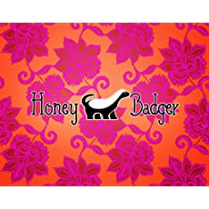Honey Badger Adult Coloring Books