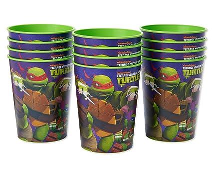 American Greetings Teenage Mutant Ninja Turtles (TMNT) Party Cups (12-Count)