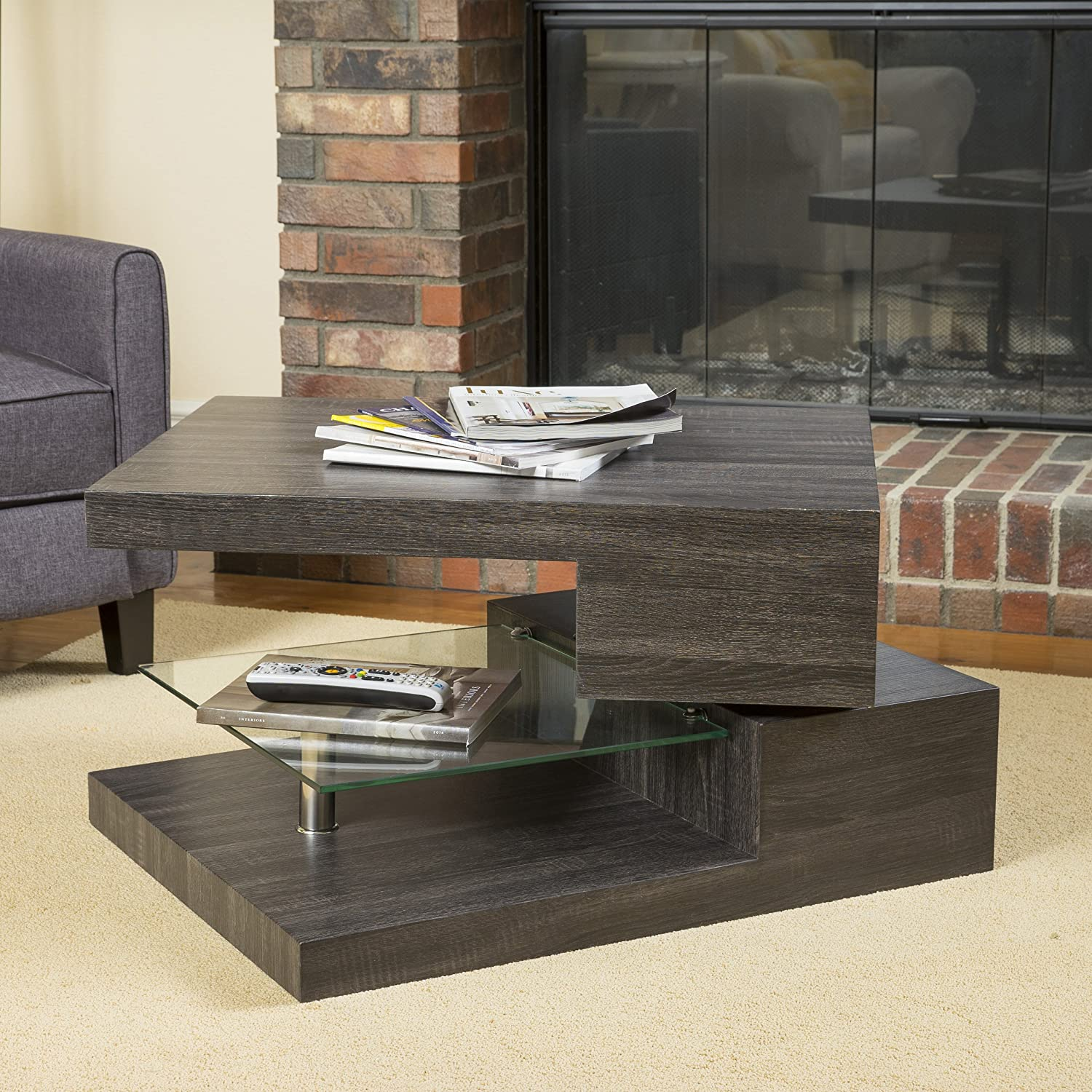 Details - 15 Coffee Tables Under $200: Unique, Modern, Cool, Wood, Glass