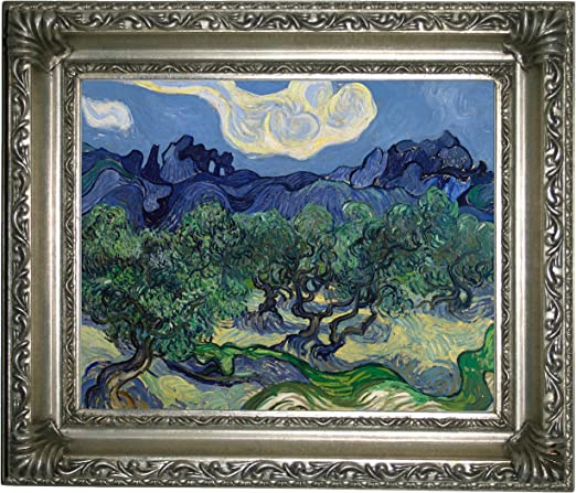 Among Trees by Vincent Van Gogh Giclee Fine Art Print Reproduction on Canvas