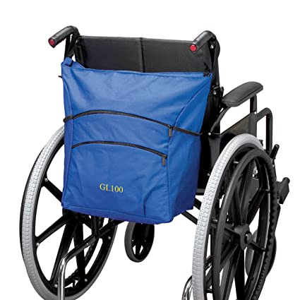 Patterson Medical - Bolsa para silla de ruedas, color negro
