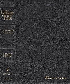 The Nelson Study Bible: New King James Version (Nelson 2885): NKJV