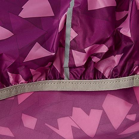 Satch Regencape mit Reflektor lila