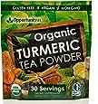 Organic Turmeric Tea Powder - Matcha Green Tea, Turmeric, Cinnamon, Ginger, Black Pepper - Natural Joint Support Supplement For Juice, Smoothie & Drinks - Vegan, Non-GMO & Gluten Free - 30 Servings