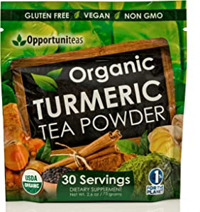 Giveaway: Organic Turmeric Tea Powder – Matcha Green Tea