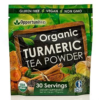 Organic Powder Turmeric Tea