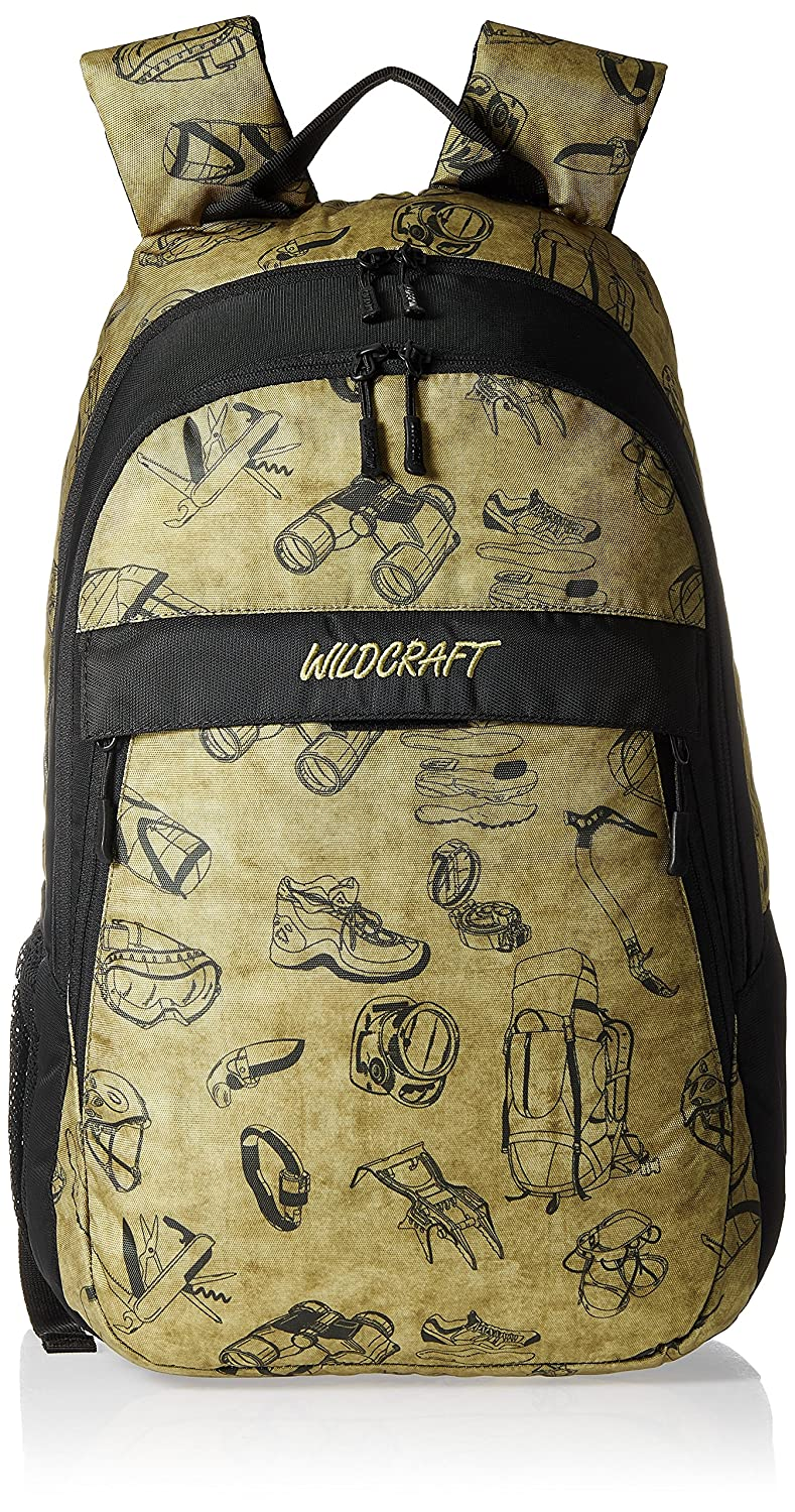Wildcraft Jaunt EQ Polyester Olive Casual Backpack(8903338018056)