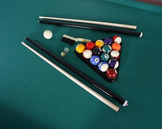 Amazon com : Carmelli Newport 8' Deluxe Pool Table : Sports & Outdoors