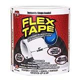 """Flex Tape White 4"""" x 5'"""