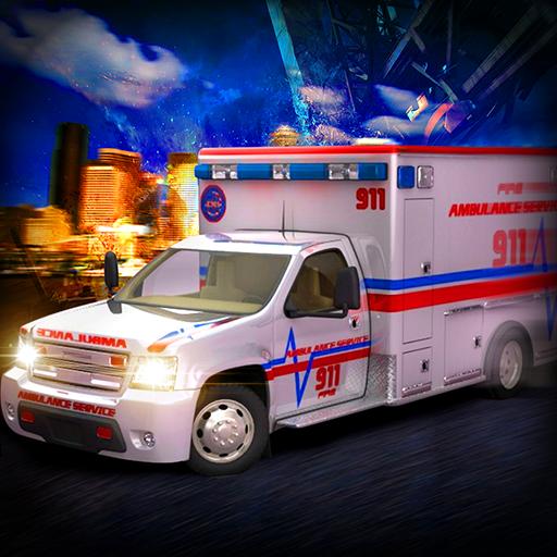 911 Emergency Ambulance Rescue 2017 3D Free ()