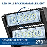 Hyperikon LED Wall Pack Rotatable 80W, 5000K