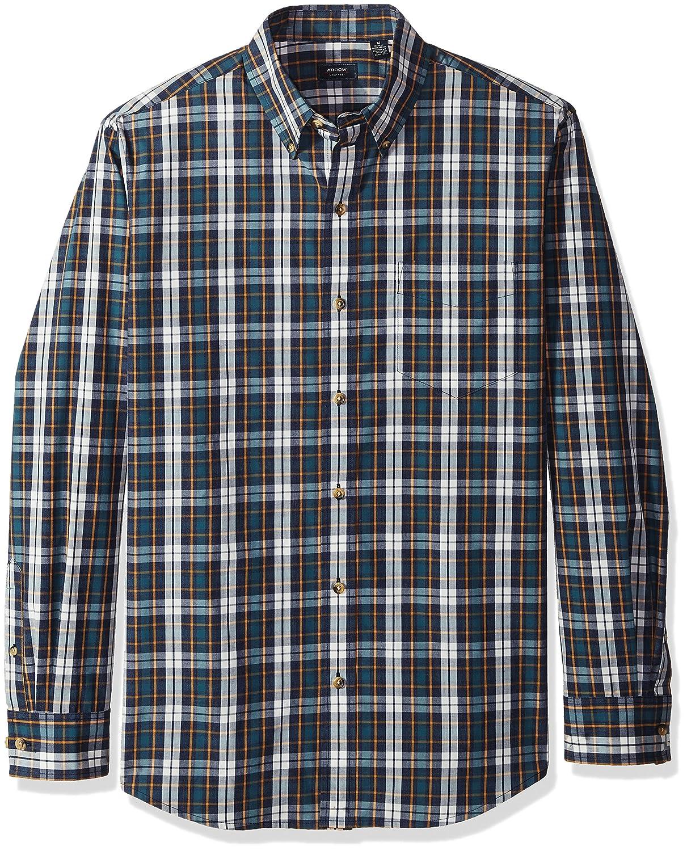 Arrow Mens Long-Sleeve Plaid Shirt