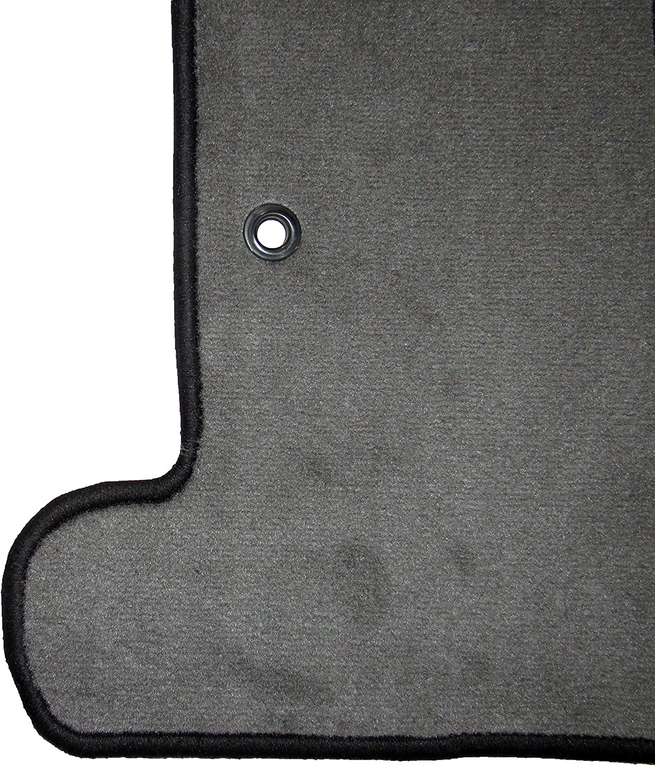 Coverking Custom Fit Rear Floor Mats for Select Chevrolet Traverse Models Black CFMDX1CH8586 Nylon Carpet