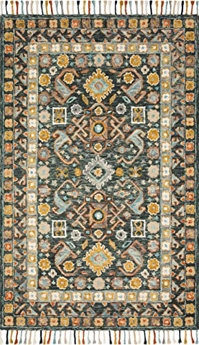Loloi II Elka Collection Colorful Floral Area Rug, 5 0 x 7 6 , multi