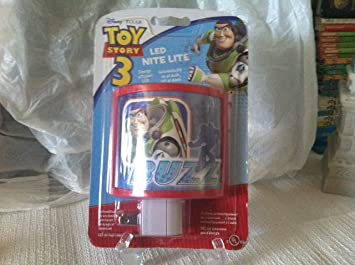 Perfect for bedside or bathrooms includes battery tea light Nightlight Fun Disney Pixar Toy Story Lantern
