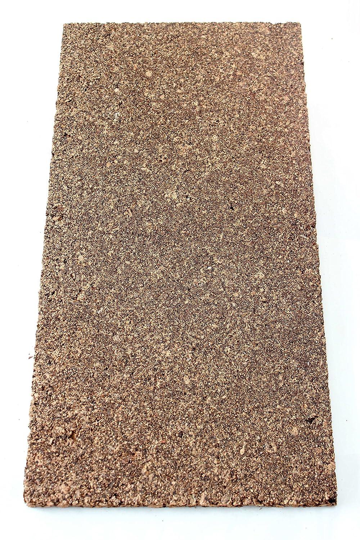 Placa de corcho aislante corcho parqué Base de insonorización 100x 50cm de grosor 20mm/Edificios aislamiento/Soporte Base/Base/EN SECO Nest Rich/aglomerado VersaCork