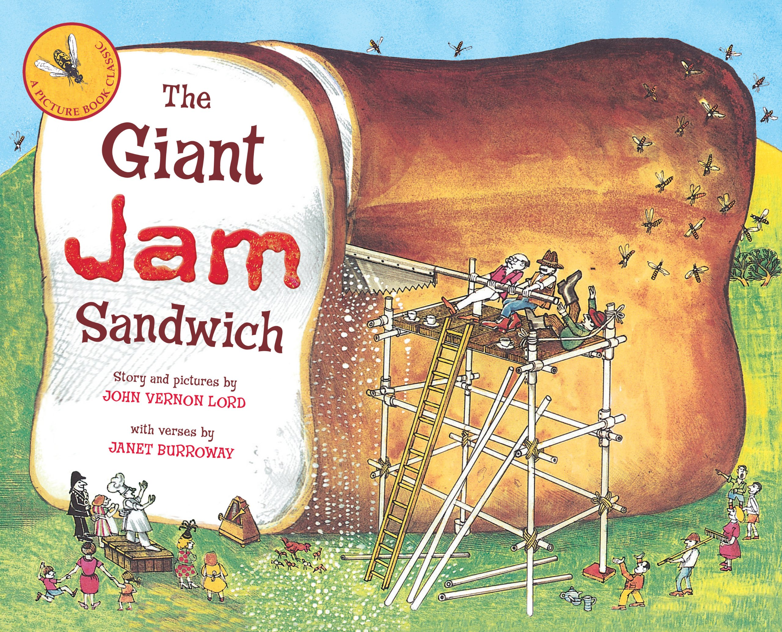 Image result for the giant jam sandwich