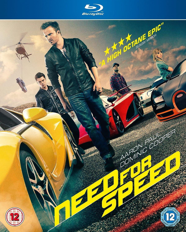 Need for Speed [Blu-ray] [2014]: Amazon.co.uk: Aaron Paul, Chillie ...