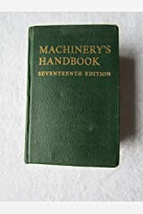 Machinery's Handbook - 17th edition Imitation Leather