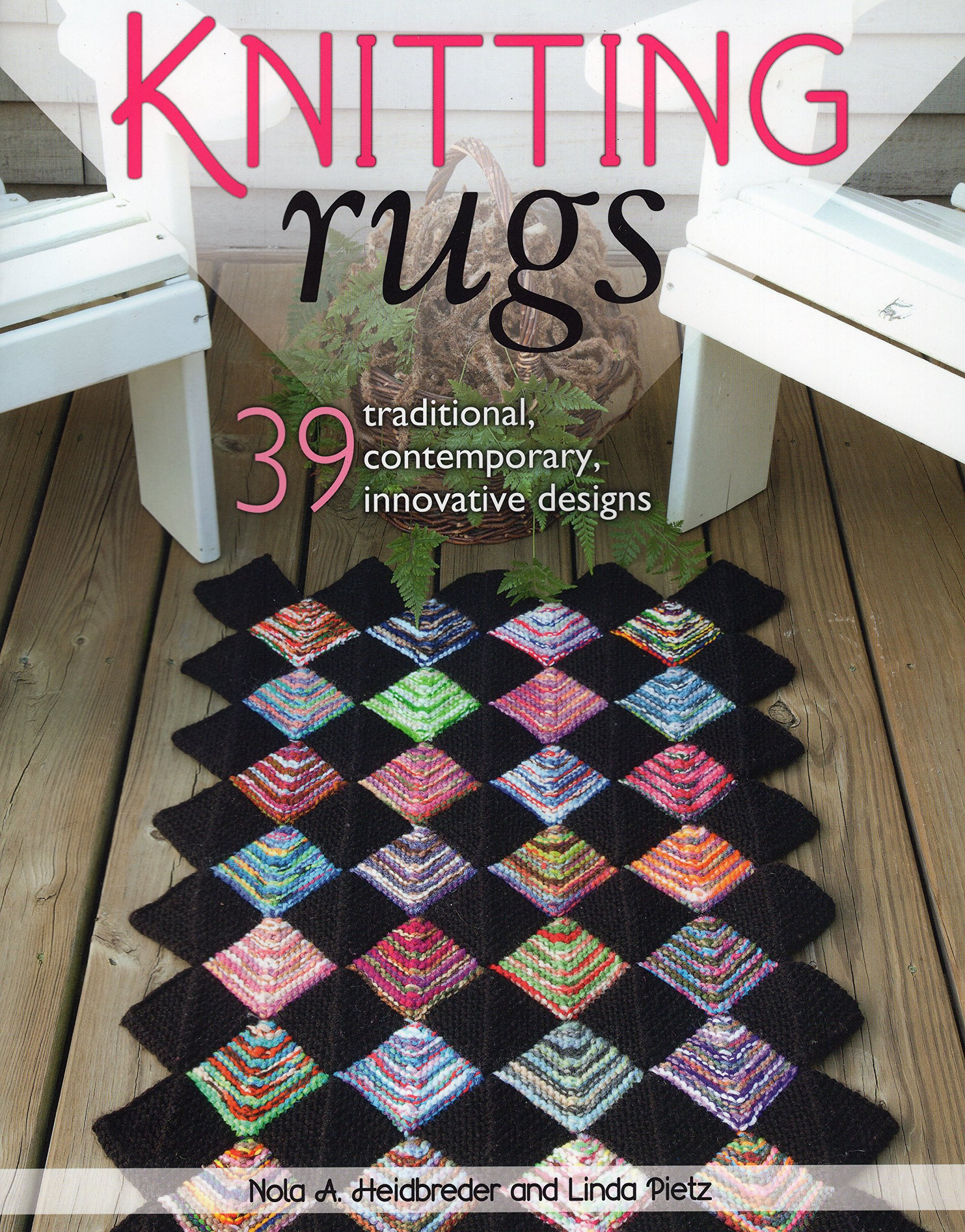 Knitting Rugs  Traditional Contemporary And Innovative Designs