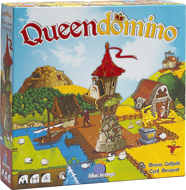 by Blue Orange Games Queendomino Board Game English Edition