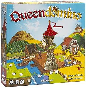 Blue Orange Games 03601 Queendomino Strategy Board Game