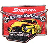 Patch Iron on for SNAP ON Metric Wrench Garage Car T shirt Suit Cap Advertising