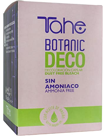 Tahe Botanic Decoloración Capilar Integral para el Pelo con aceite de Argán sin Amoníaco para Todo