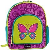 """Crocodile Creek Girls Eco Butterfly School Backpack, Purple, 14"""""""