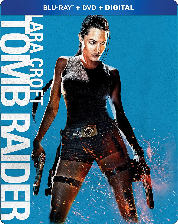 Lara Croft Tomb Raider Blu Ray Amazon Co Uk Dvd Blu Ray