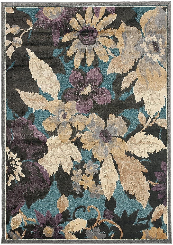 Safavieh Amalia gewebter Teppich, PAR148-770, Grau   Mehrfarbig, 160 X 228  cm