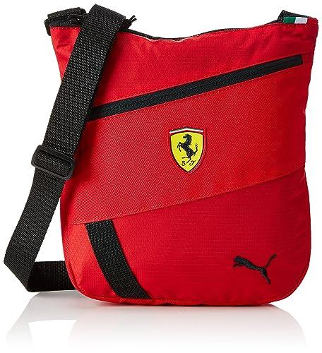 82ed921015 Puma Unisex Ferrari Fanwear Portable Red Messanger Bag: Amazon.in: Shoes &  Handbags