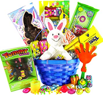 Amazon classic easter gift basket premade and shrink classic easter gift basket premade and shrink wrapped kids boys girls negle Image collections